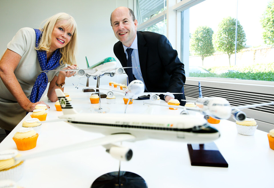 Mary Mitchell O'Connor, Minister for Jobs, Enterprise and Innovation and Aidan Brogan,  Chief Executive Officer, Datalex.
