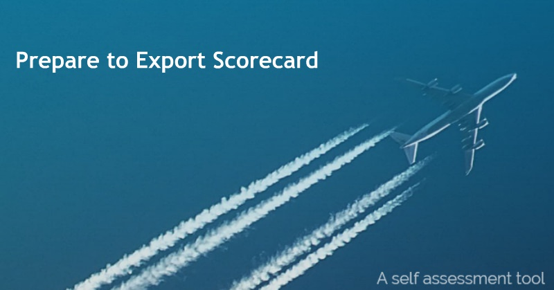 Prepare to Export Scorecard