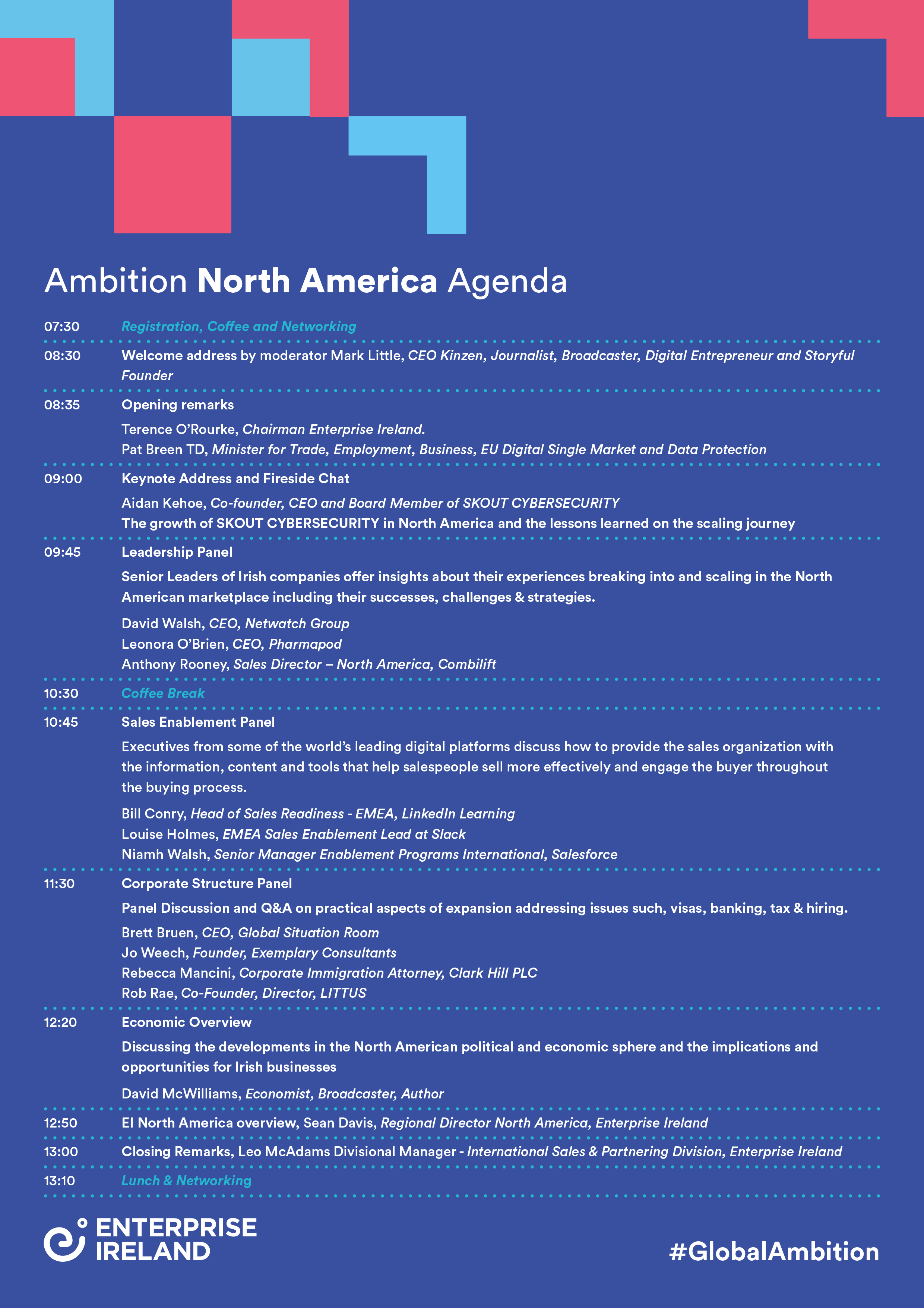 Agenda for Ambition: North America