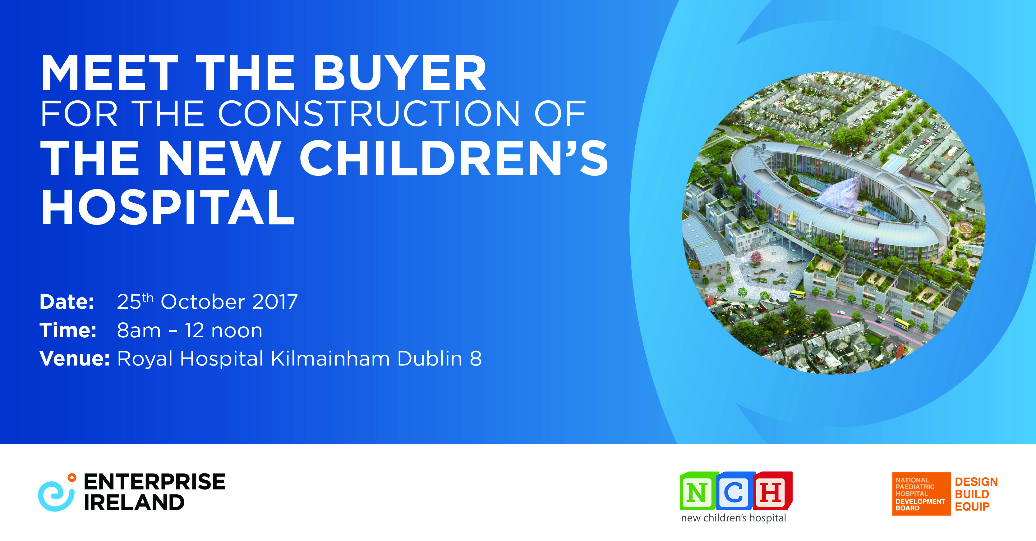 meet the buyer for the construction of the new children's hospital
