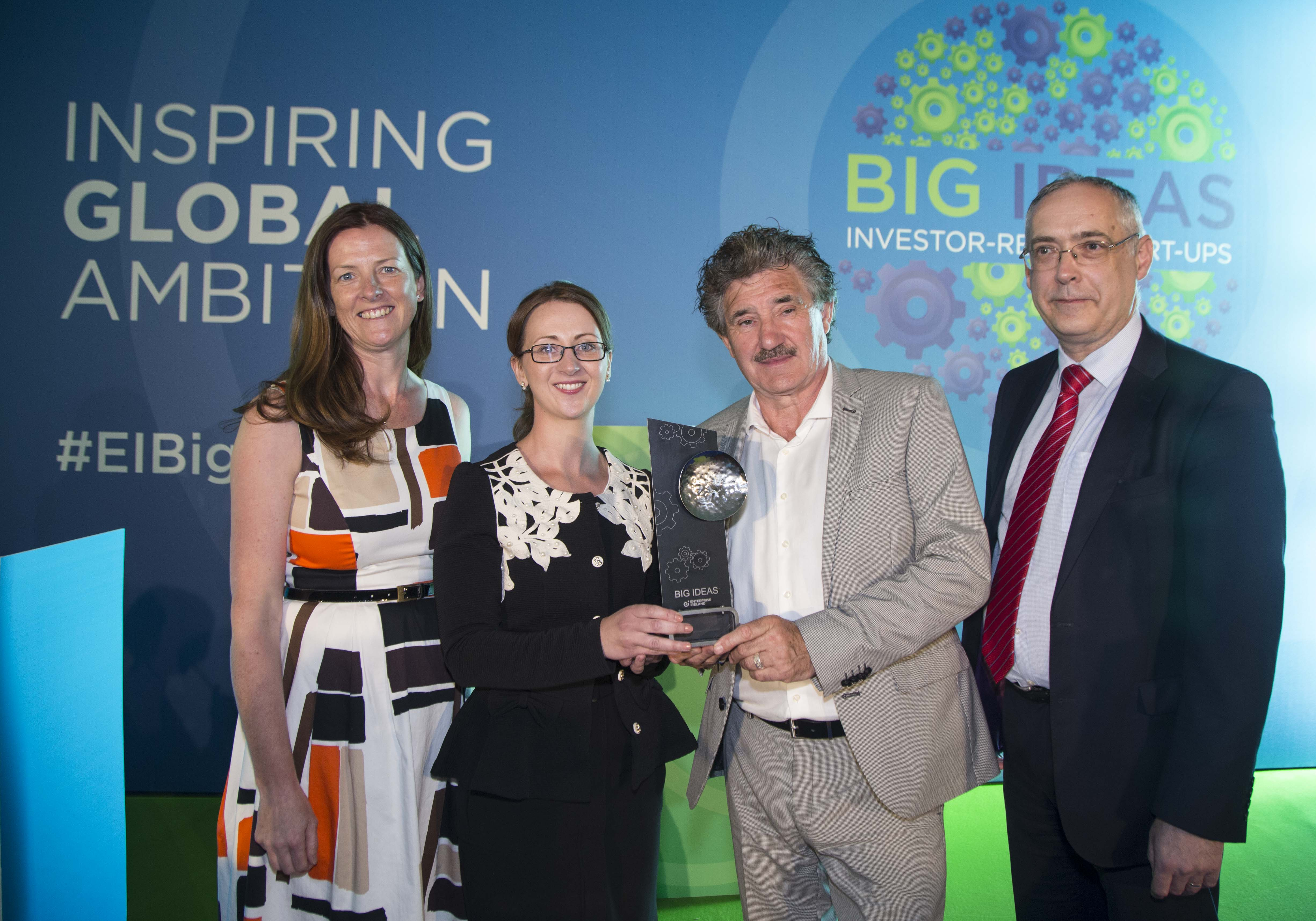 """One to Watch Award"" winner Finola Cliffe of HookeBio"