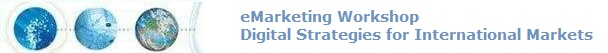 eMarketing Workshop | Using the Internet to Compete in International Markets