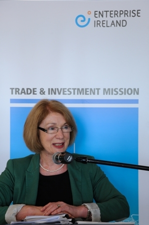 Ms Jan O'Sullivan, T.D., Minister for Trade and Development