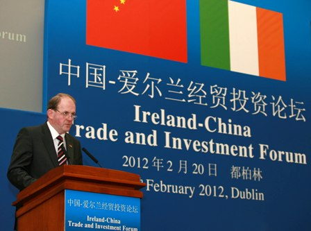 Frank Ryan, CEO, Enterprise Ireland pictured at Enterprise Ireland's China Trade and Investment Forum