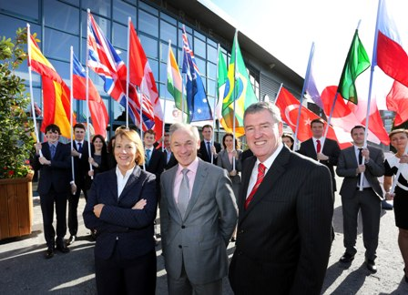 Pictured were from (L-R), Julie Sinnamon, CEO Designate, Enterprise Ireland, Minister for Jobs, Enterprise and Innovation, Richard Bruton TD and Kevin Sherry, Enterprise Ireland's Head of International Sales and Partnering.
