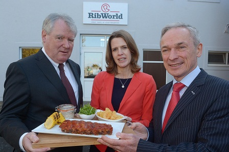 Irish company Ribworld announces 100 new jobs as part of major investment programme. Minister Bruton officially opens Ribworld's new facility at Fethard, Co Tipperary. €8million investment project is supported by Department of Jobs through Enterprise Ireland.