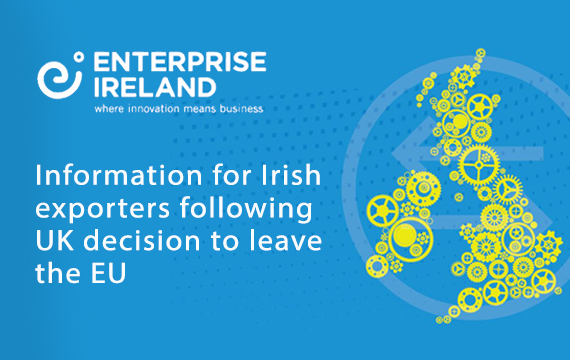 Info for Irish exporters