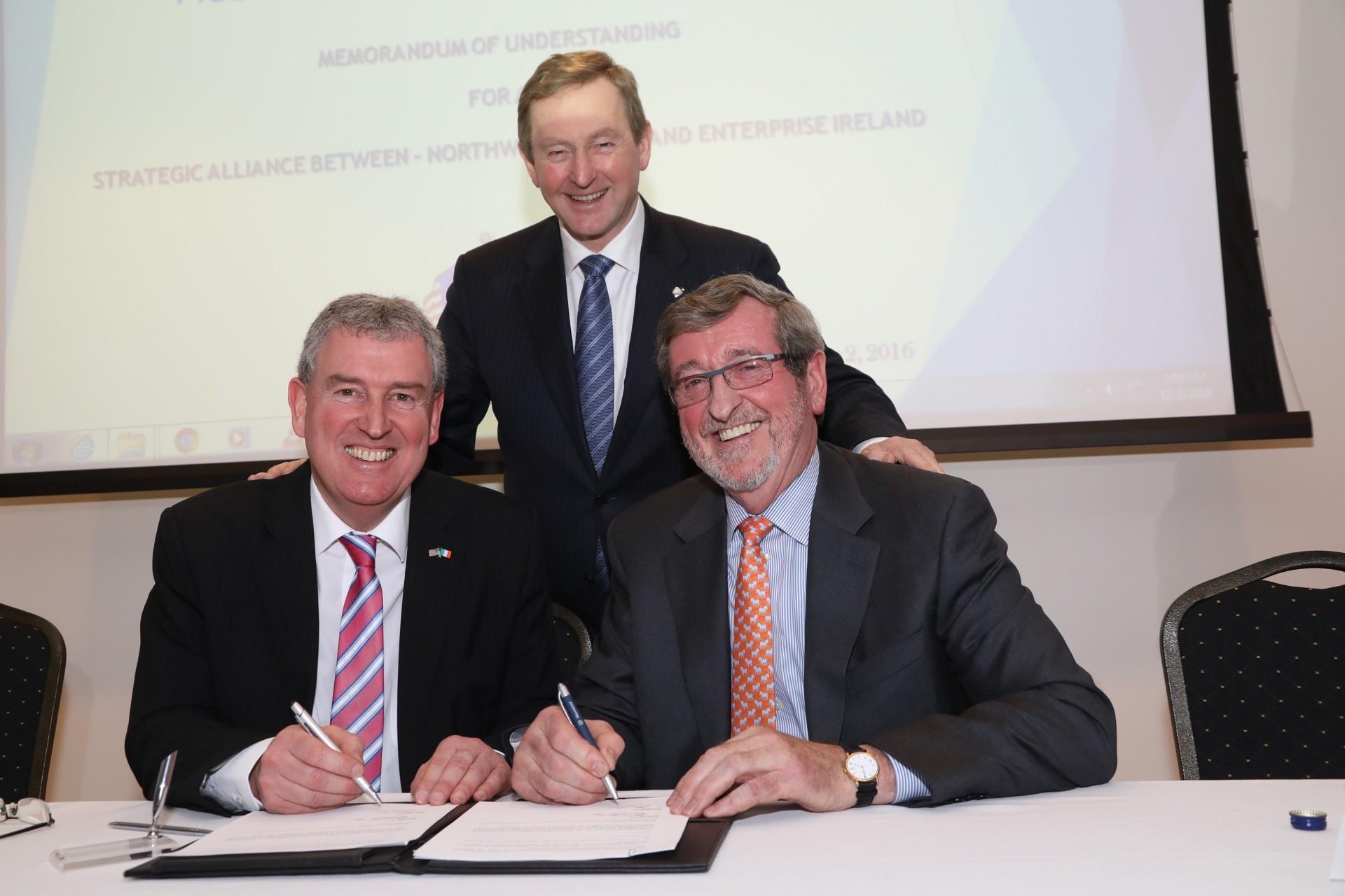 An Taoiseach welcomes strategic partnership agreement between – Partnership Agreement Between Two Companies