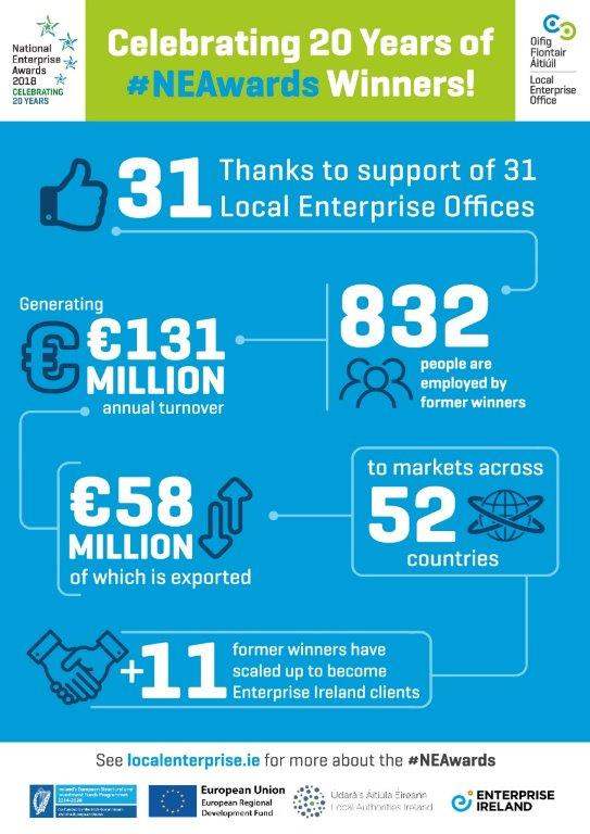 LEO National Enterprise Awards Infographic