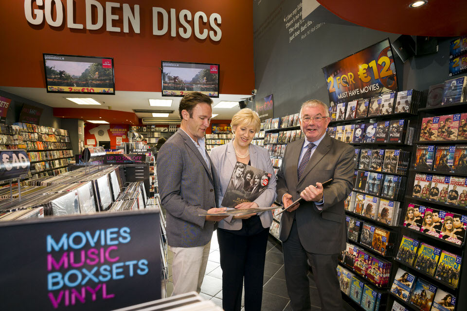 Irish retailer Golden Discs