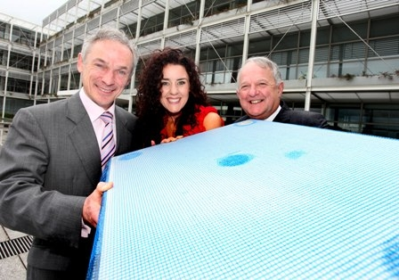 (l-r): Minister for Jobs, Enterprise and Innovation Richard Bruton TD, Joanna Murphy, Managing Director, Protherm Insulation, and Hugh Cooney, Chairman, Enterprise Ireland