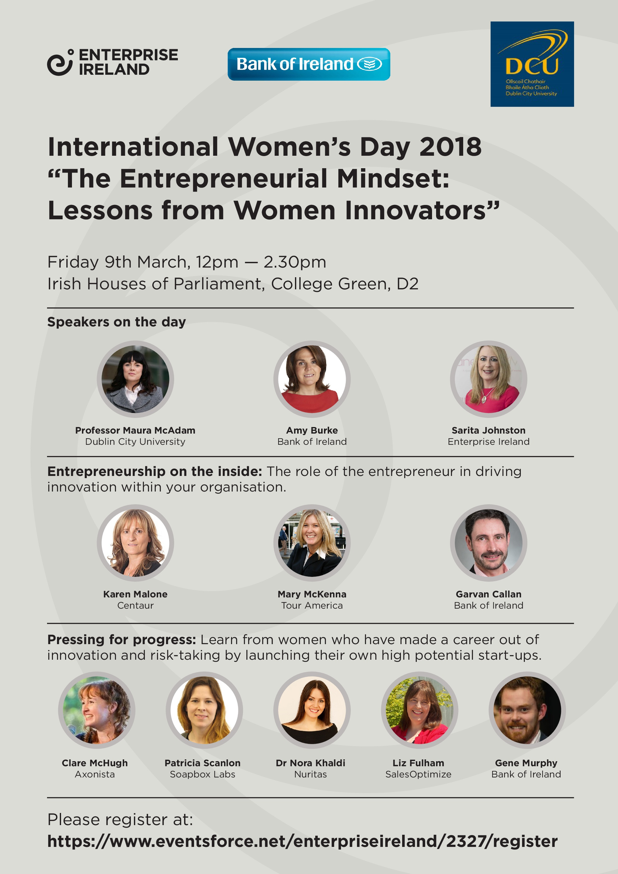 International Womens Day Invite image