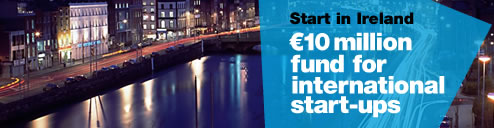 Start ups outside ireland